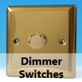 Victorian Brass - Standard Dimmer Switches