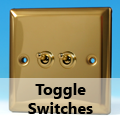 Victorian Brass - Toggle Switches
