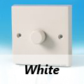 White Standard Dimmer Switches