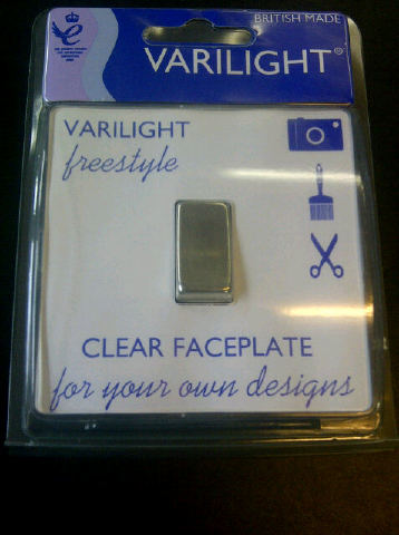 Varilight Clear Faceplate Design