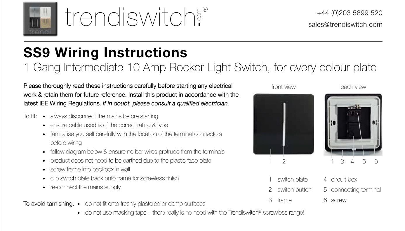 Trendiswitch Frequently Asked Questions How A Three Way Switch Works Do You Wire An Intermediate 3